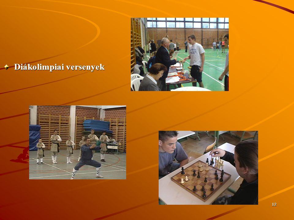 Diákolimpiai versenyek