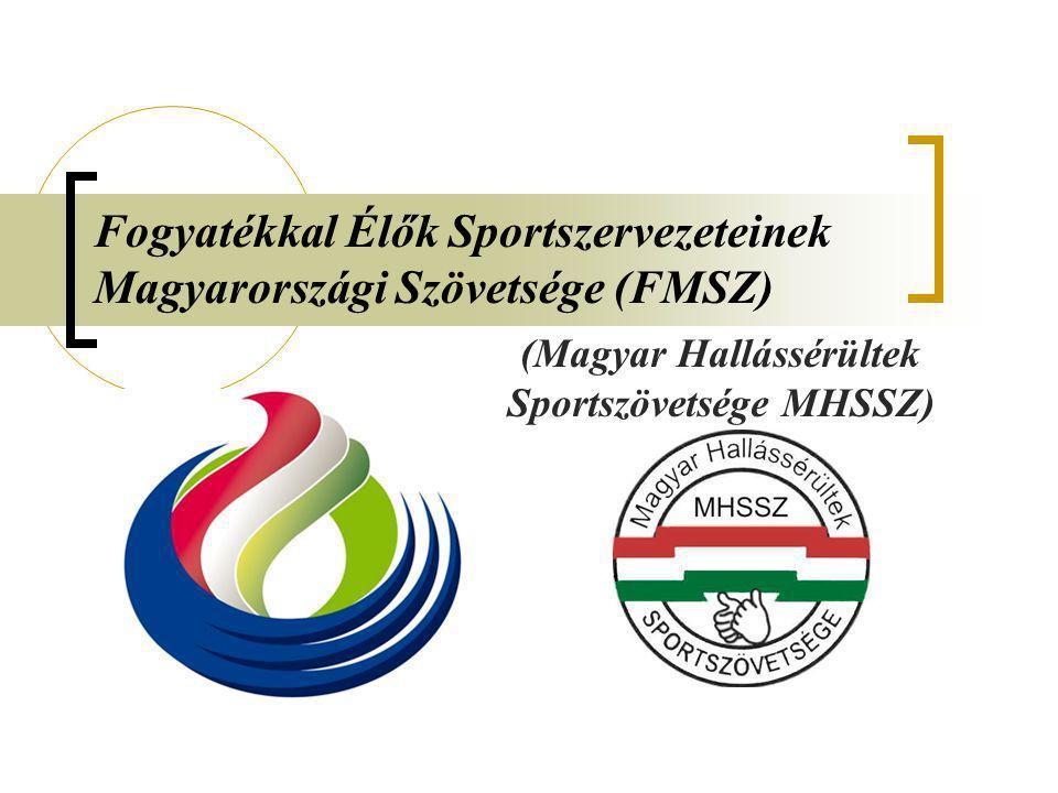 Fogyatékkal Élők Sportszervezeteinek Magyarországi Szövetsége (FMSZ)