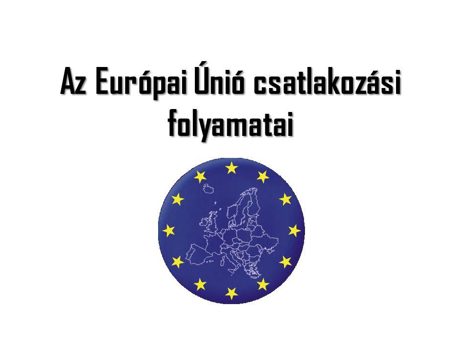 Az Európai Únió csatlakozási folyamatai