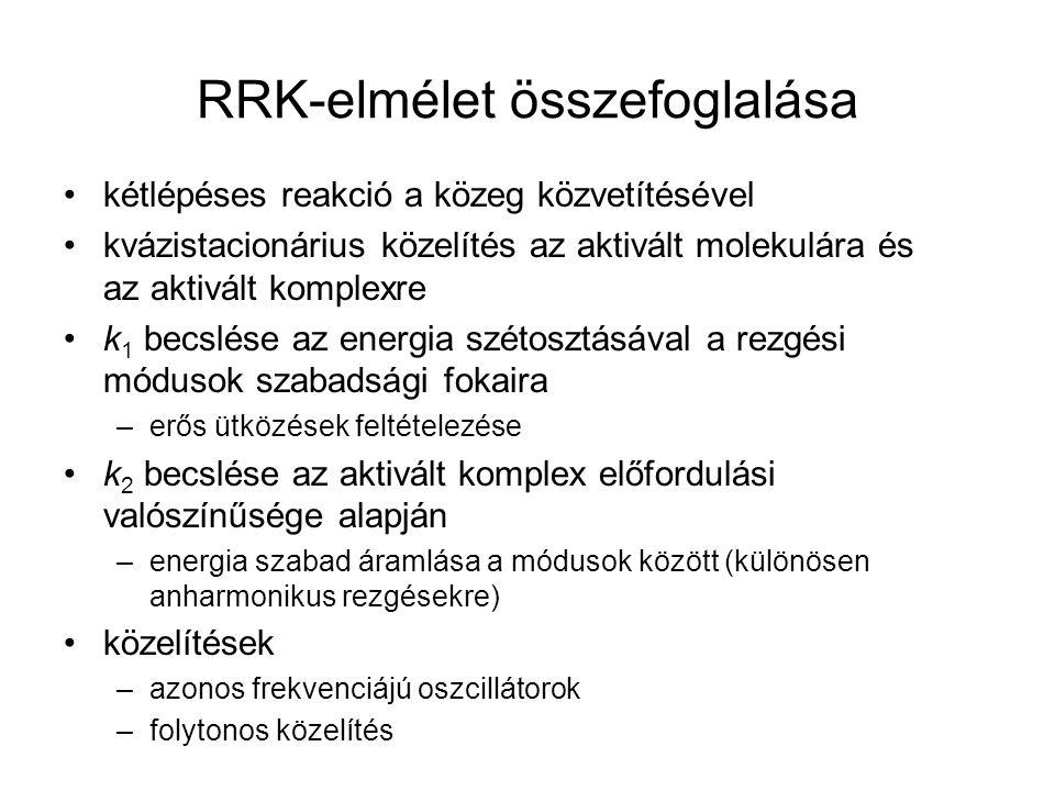RRK-elmélet összefoglalása
