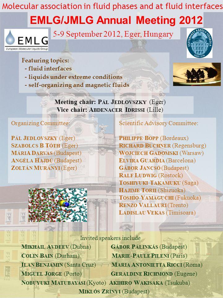 EMLG/JMLG Annual Meeting 2012