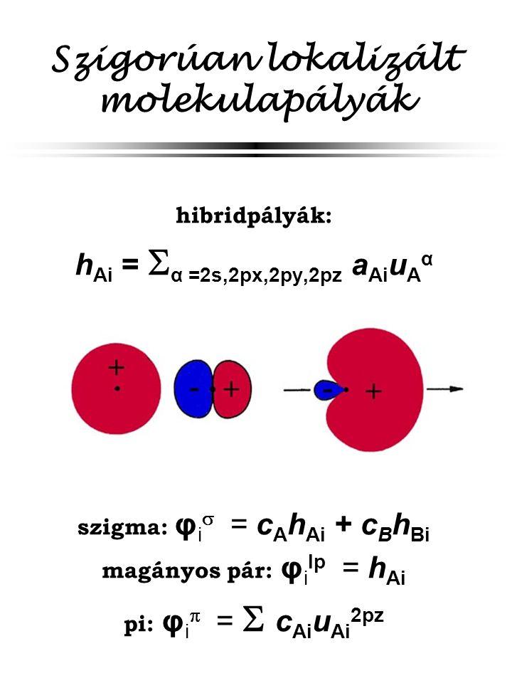 Szigorúan lokalizált molekulapályák