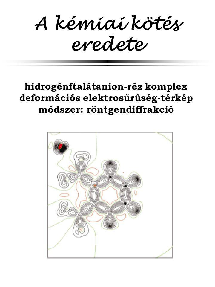 A kémiai kötés eredete hidrogénftalátanion-réz komplex