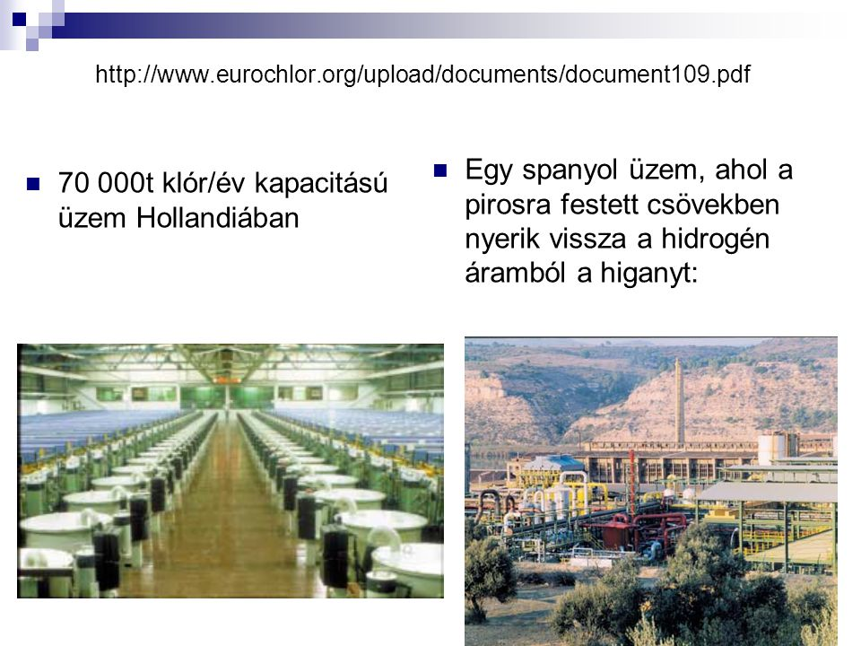 70 000t klór/év kapacitású üzem Hollandiában