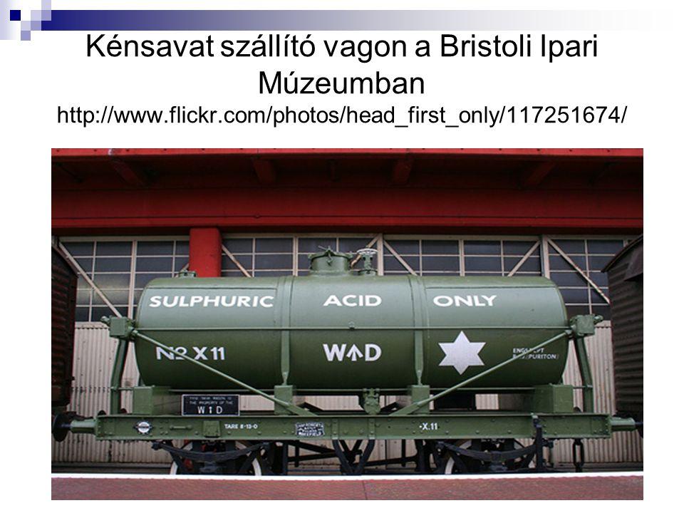 Kénsavat szállító vagon a Bristoli Ipari Múzeumban http://www. flickr