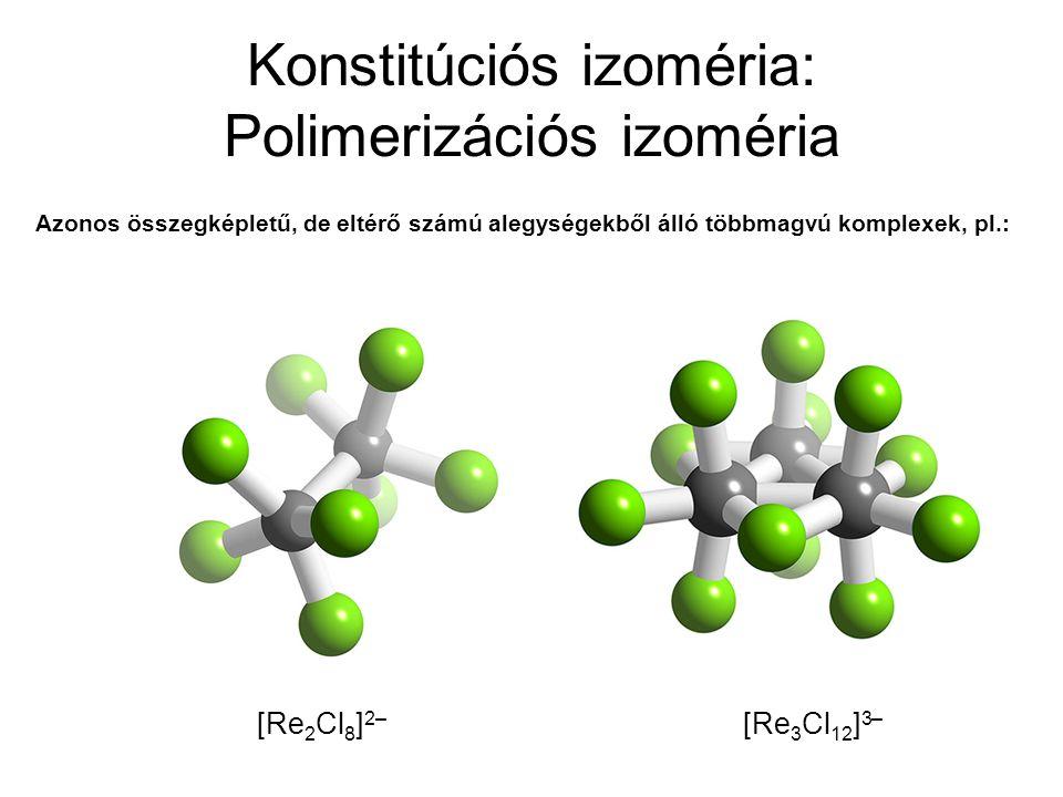 Konstitúciós izoméria: Polimerizációs izoméria