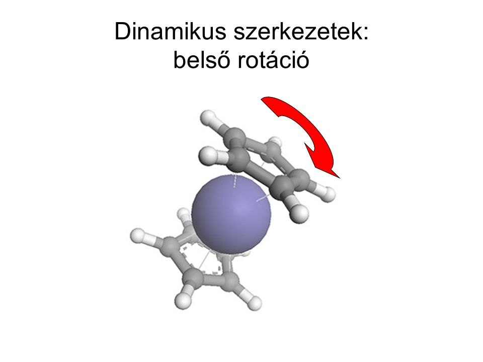 Dinamikus szerkezetek: belső rotáció