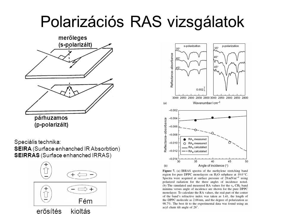 Polarizációs RAS vizsgálatok