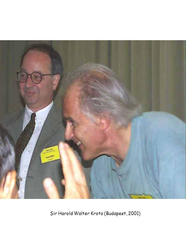 Sir Harold Walter Kroto (Budapest, 2001)
