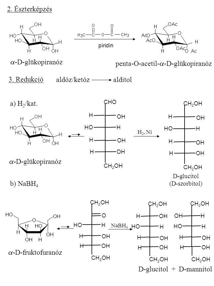 penta-O-acetil-a-D-glükopiranóz
