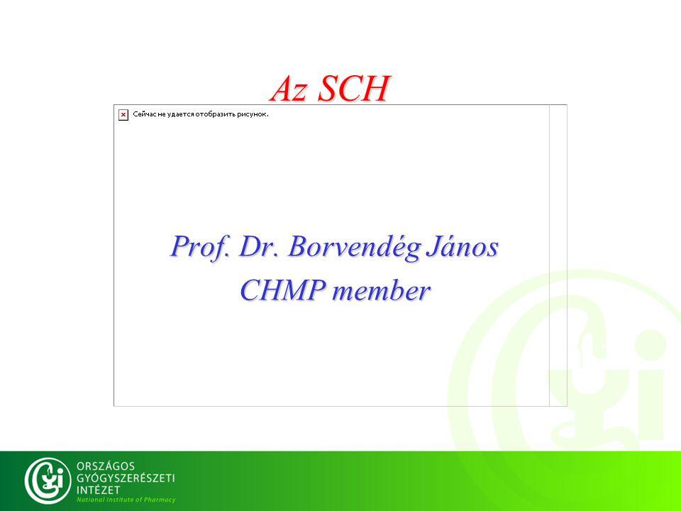 Prof. Dr. Borvendég János CHMP member