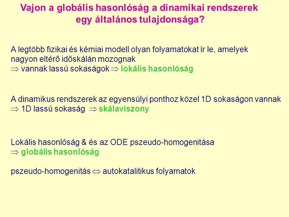 Vajon a globális hasonlóság a dinamikai rendszerek egy általános tulajdonsága