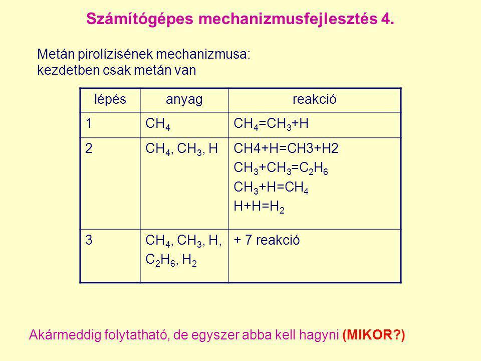Számítógépes mechanizmusfejlesztés 4.