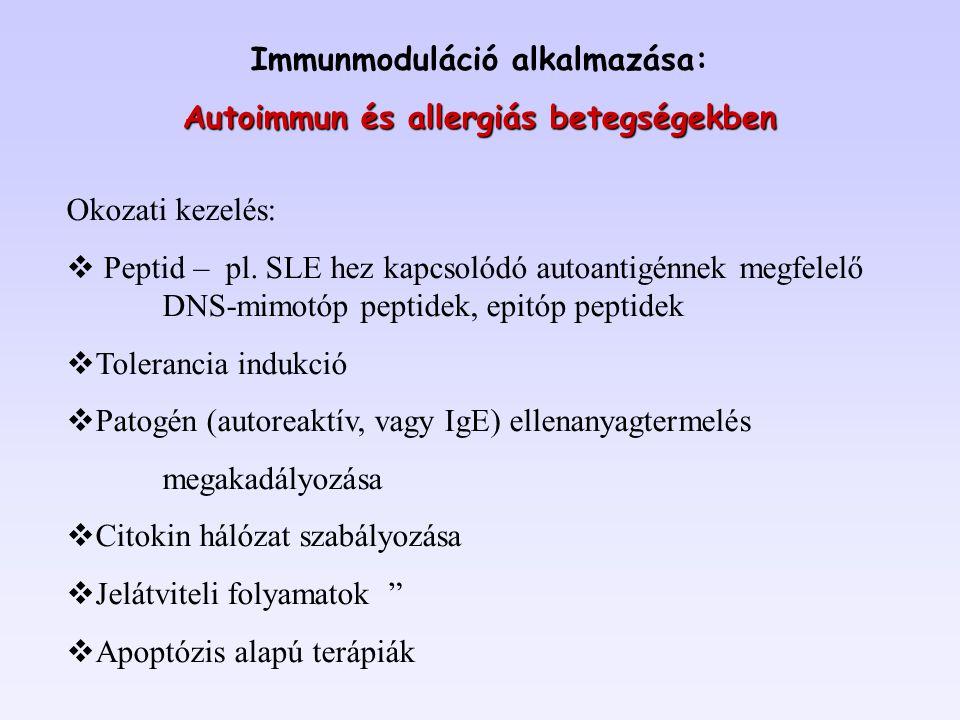 Immunmoduláció alkalmazása: Autoimmun és allergiás betegségekben