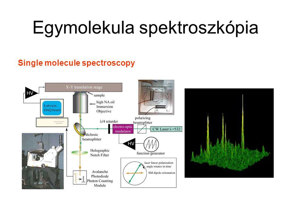 Egymolekula spektroszkópia
