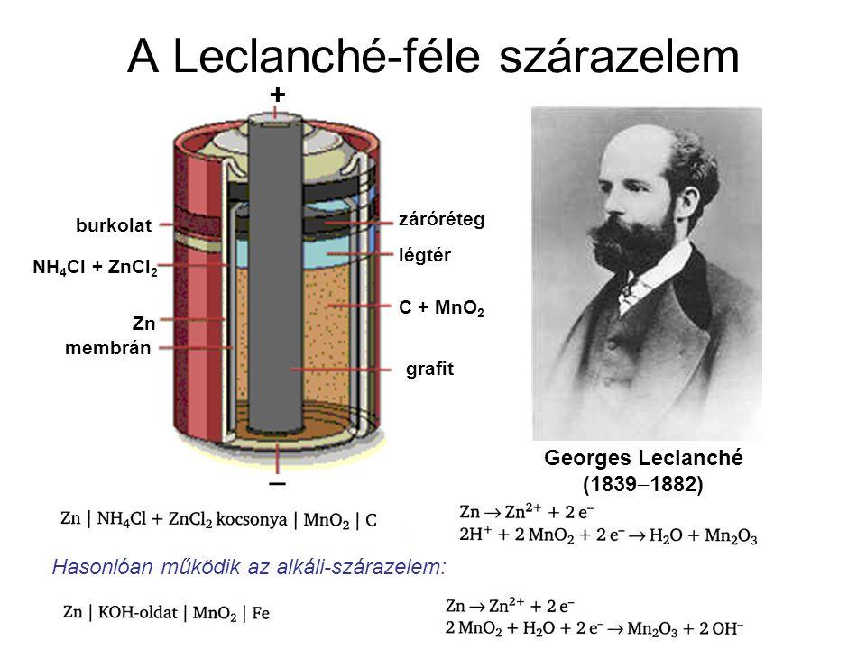 A Leclanché-féle szárazelem