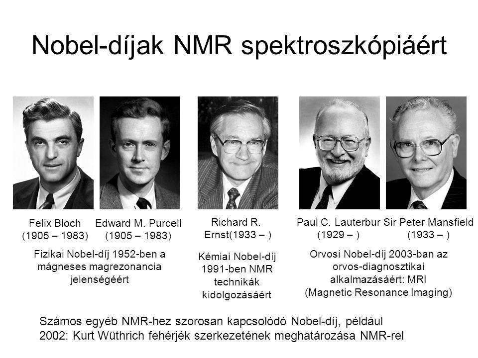 Nobel-díjak NMR spektroszkópiáért