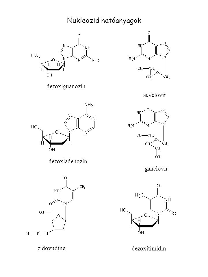 Nukleozid hatóanyagok