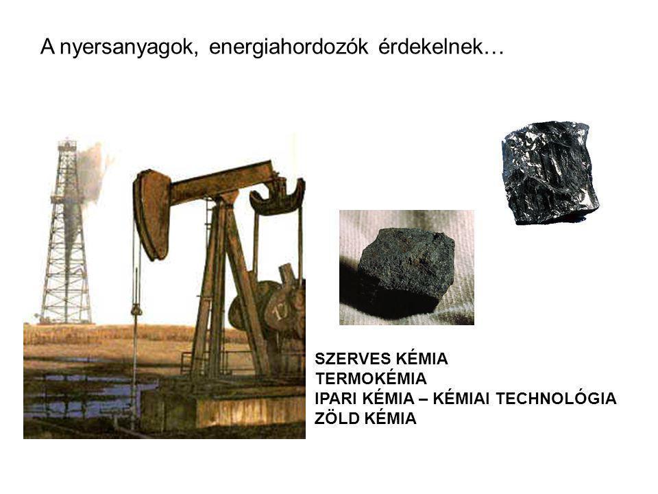A nyersanyagok, energiahordozók érdekelnek…