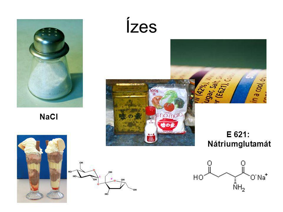 Ízes NaCl E 621: Nátriumglutamát