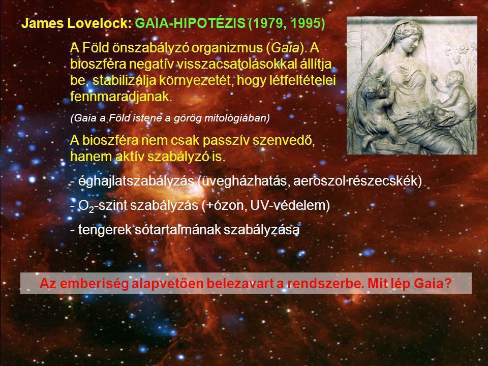 Az emberiség alapvetően belezavart a rendszerbe. Mit lép Gaia