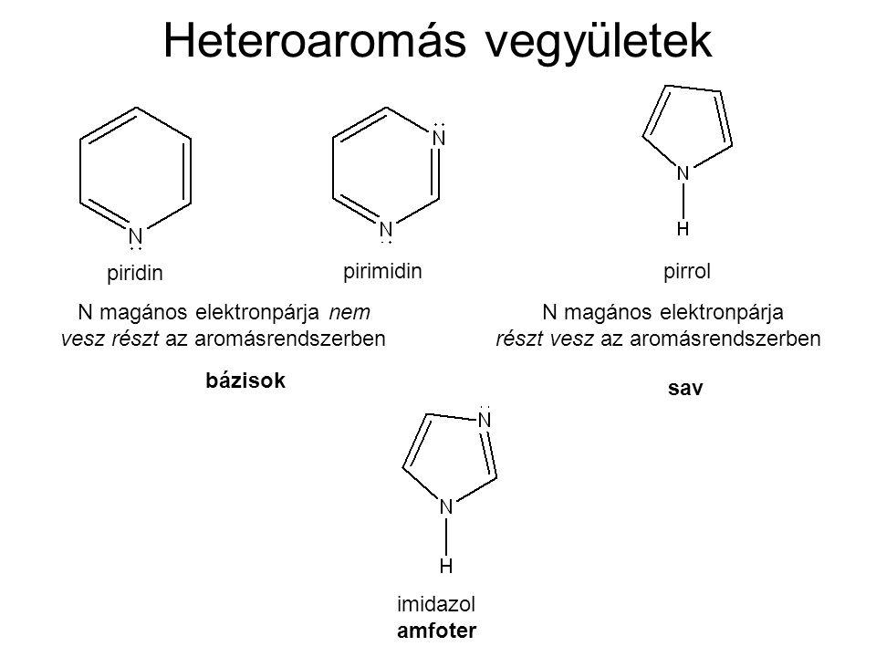 Heteroaromás vegyületek