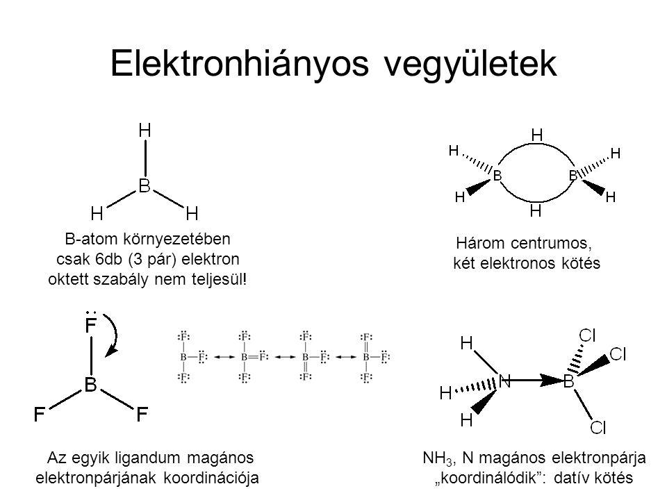 Elektronhiányos vegyületek