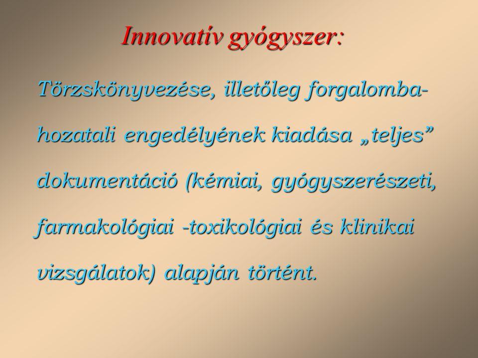 Innovatív gyógyszer:
