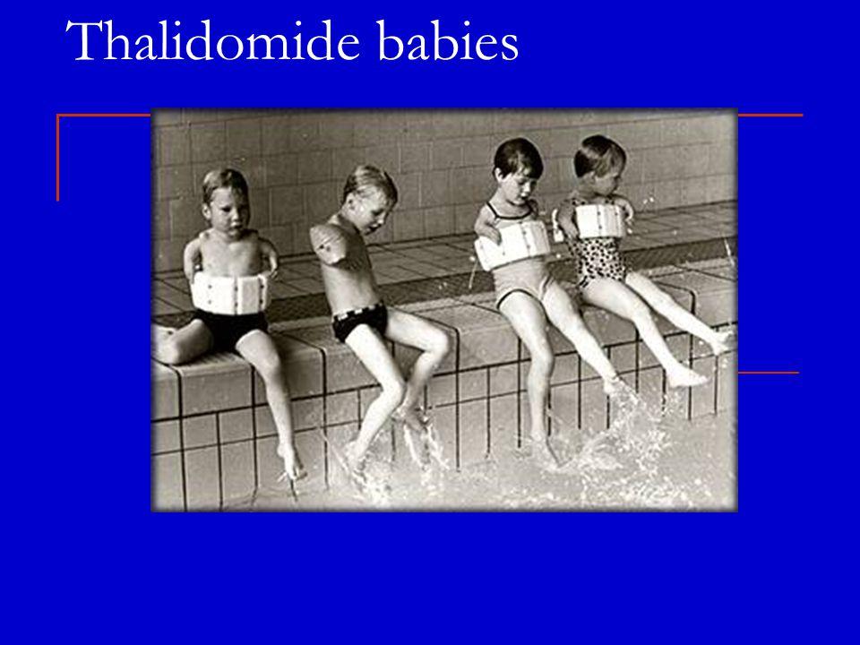 Thalidomide babies
