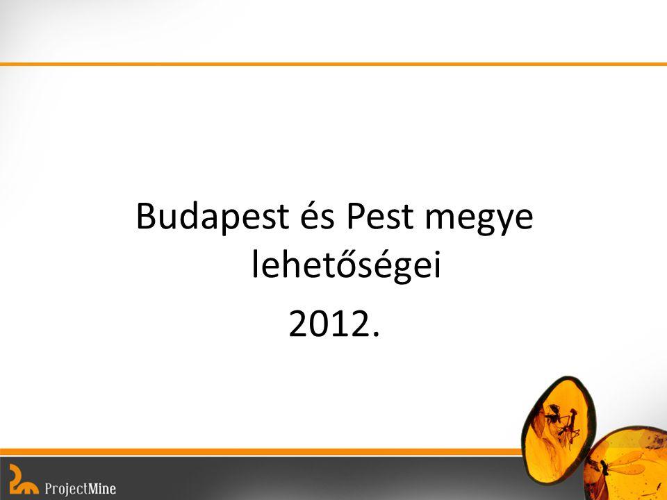 Budapest és Pest megye lehetőségei 2012.