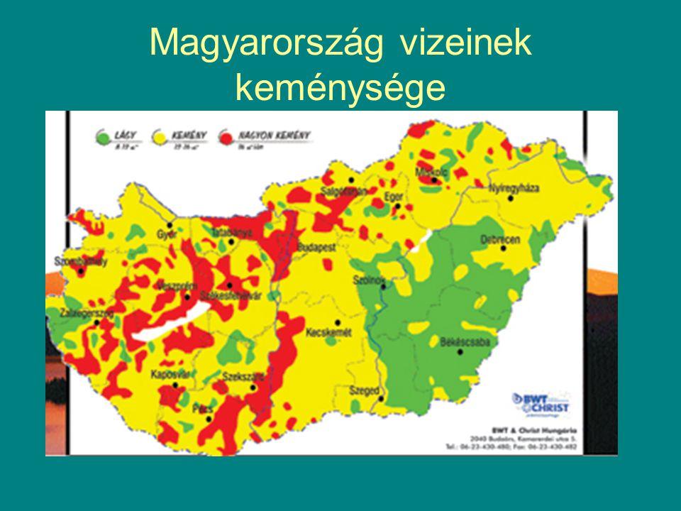 Magyarország vizeinek keménysége