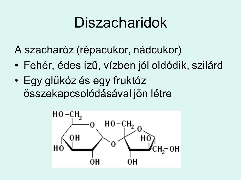 Diszacharidok A szacharóz (répacukor, nádcukor)