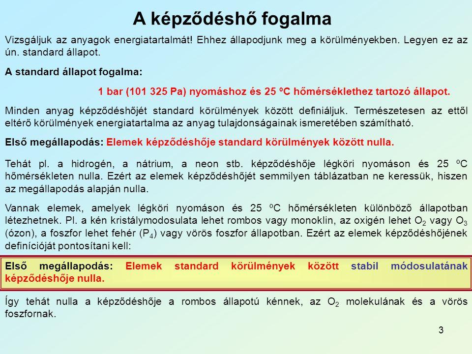 13_Fk_Termokémia A képződéshő fogalma.