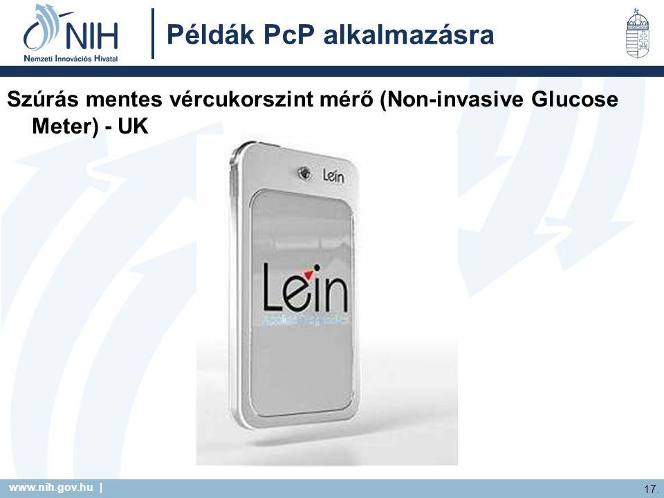 Példák PcP alkalmazásra