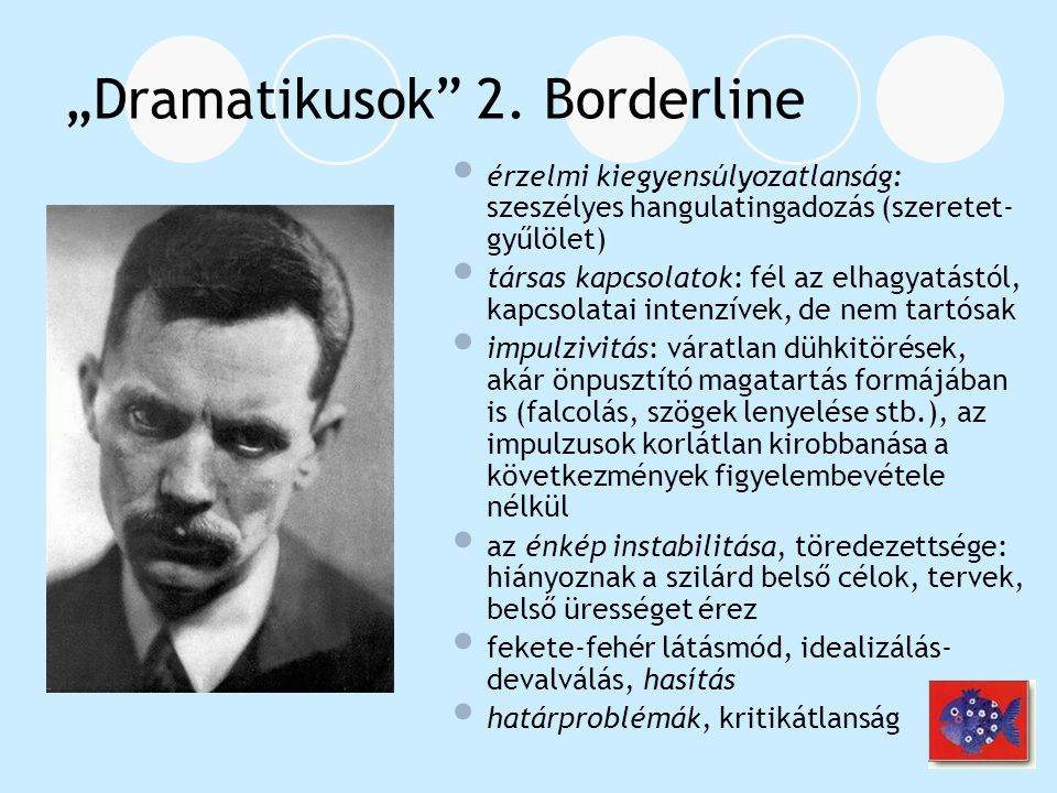 """Dramatikusok 2. Borderline"