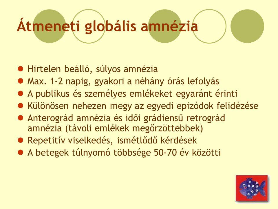 Átmeneti globális amnézia