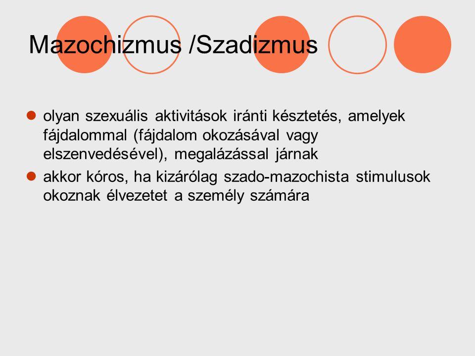 Mazochizmus /Szadizmus