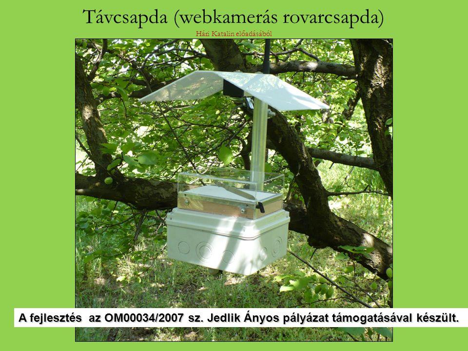 Távcsapda (webkamerás rovarcsapda) Hári Katalin előadásából