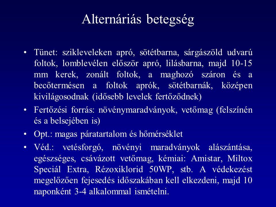 Alternáriás betegség