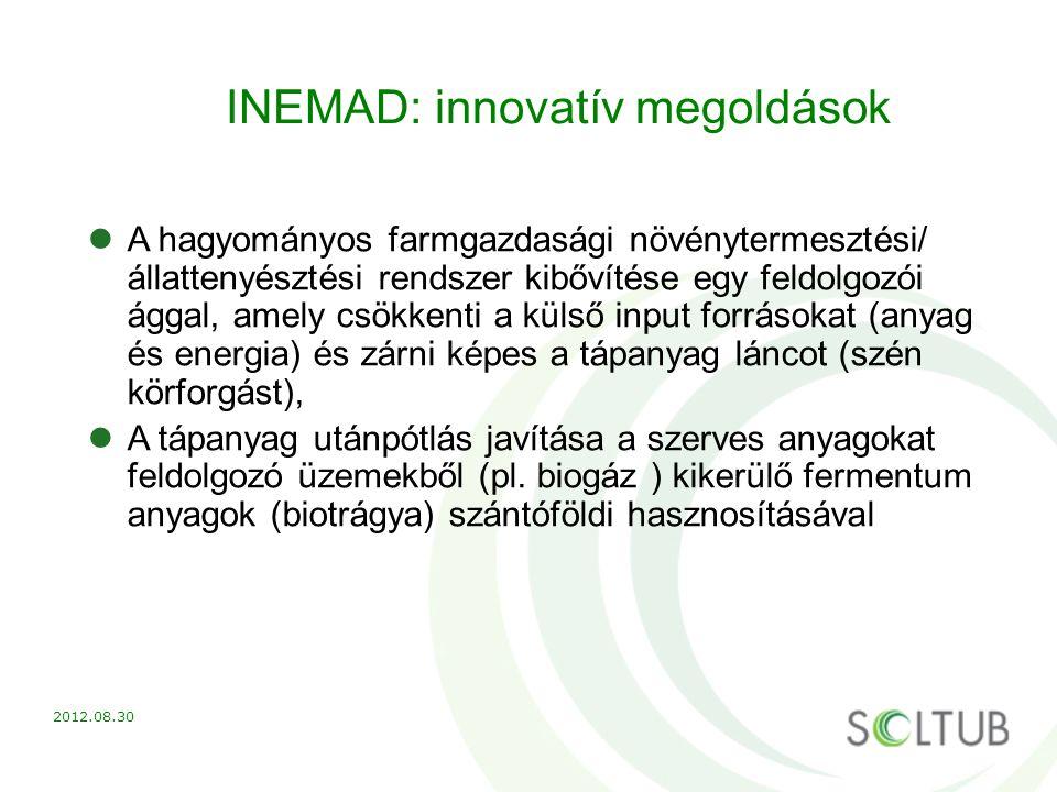 INEMAD: innovatív megoldások