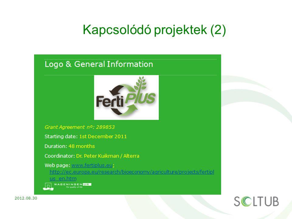 Kapcsolódó projektek (2)