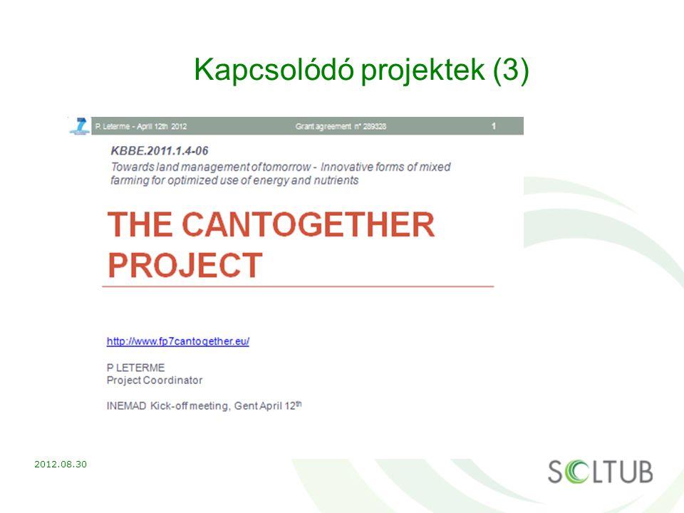 Kapcsolódó projektek (3)