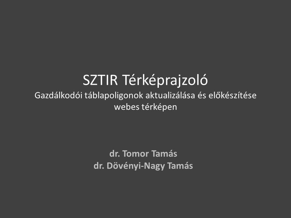 dr. Tomor Tamás dr. Dövényi-Nagy Tamás