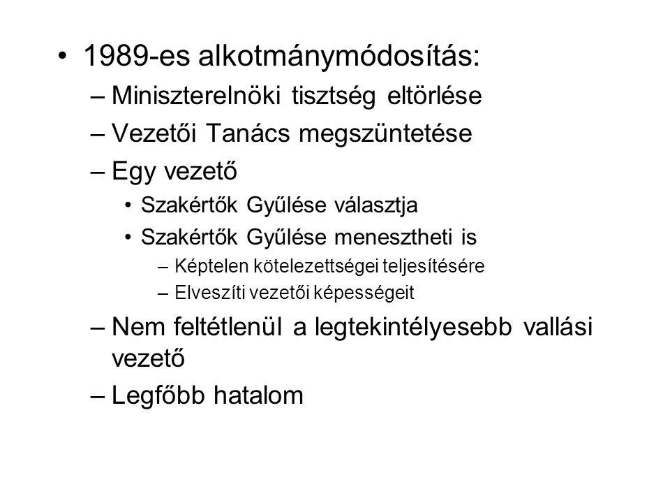 1989-es alkotmánymódosítás: