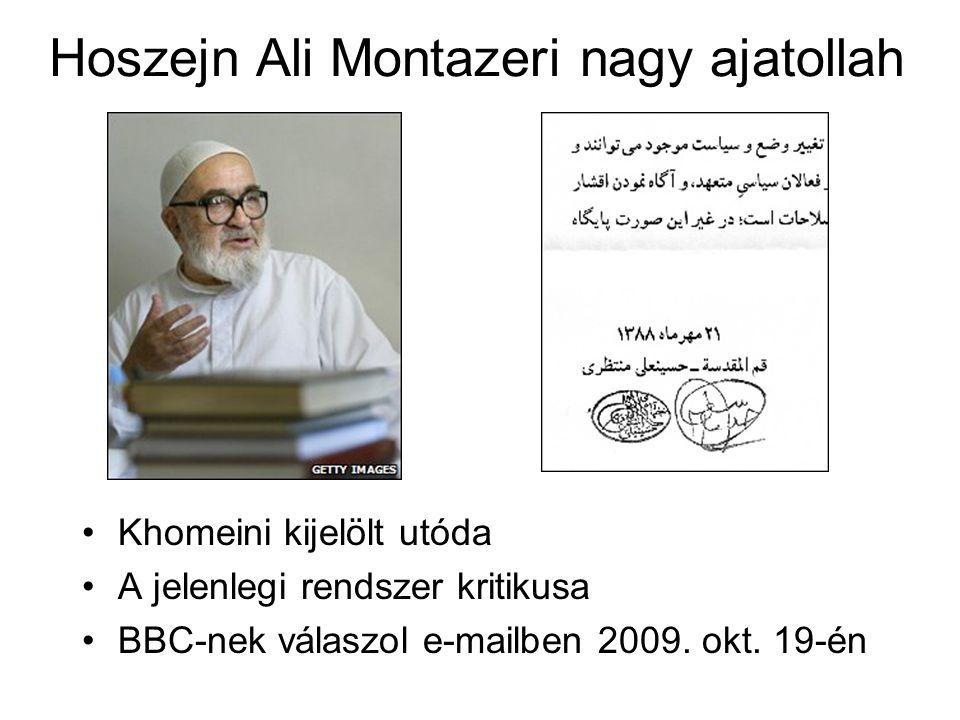 Hoszejn Ali Montazeri nagy ajatollah
