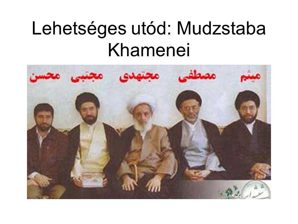 Lehetséges utód: Mudzstaba Khamenei