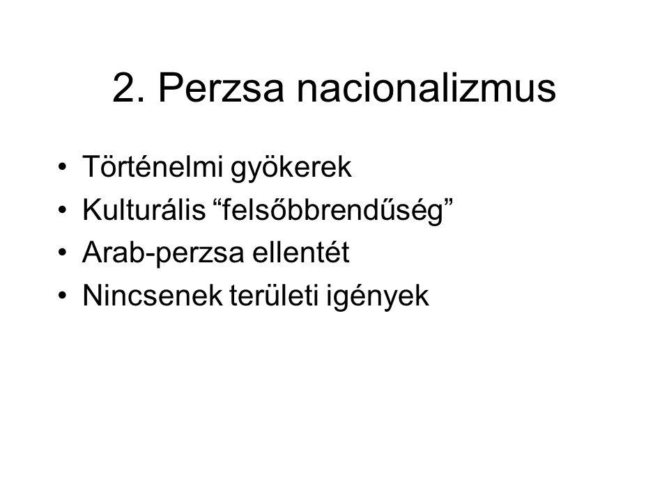 2. Perzsa nacionalizmus Történelmi gyökerek