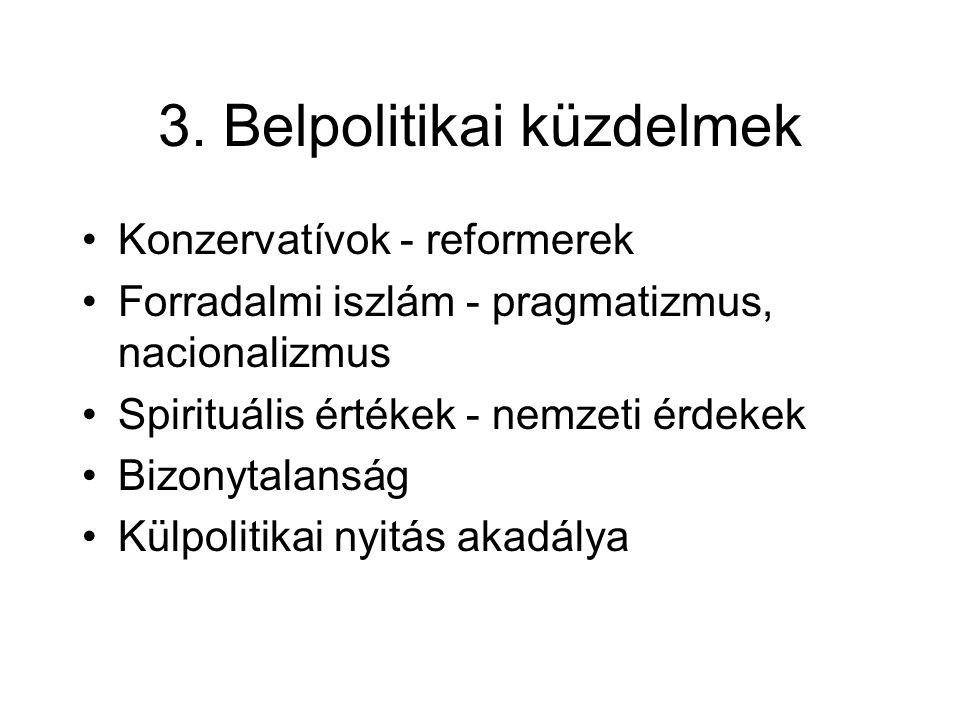 3. Belpolitikai küzdelmek