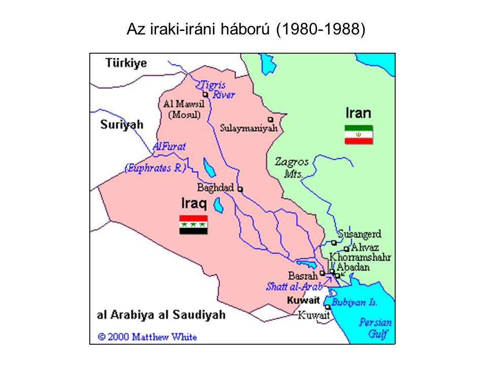 Az iraki-iráni háború (1980-1988)