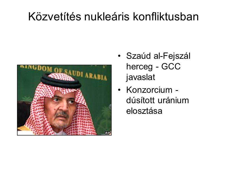 Közvetítés nukleáris konfliktusban